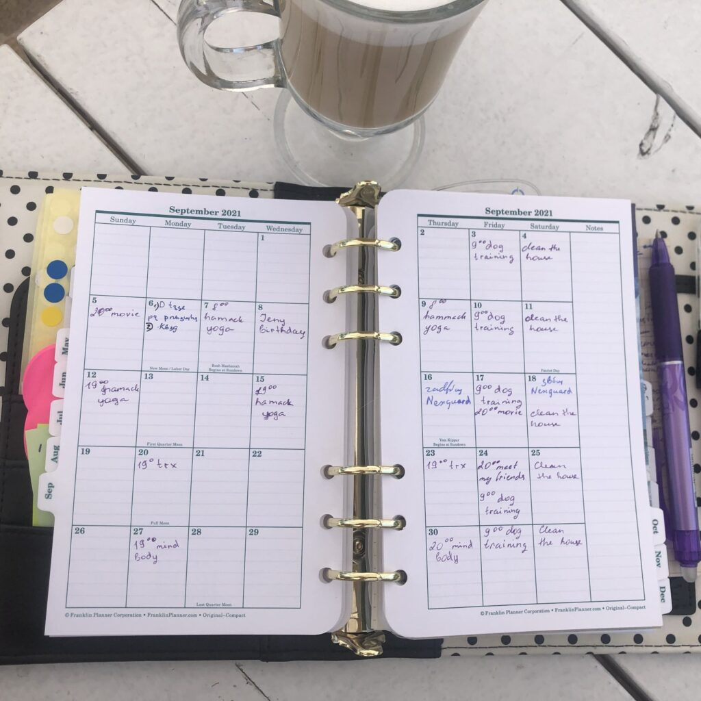 franklin covey one page per day planner refill